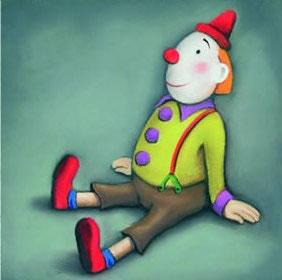 The Little Clown - Mounted by Paul Horton