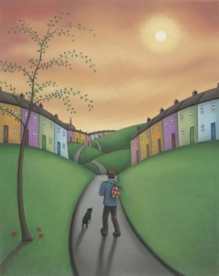 Who Knows Where the Road May Lead by Paul Horton