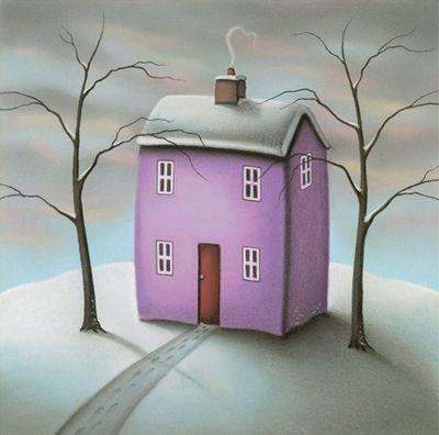 Winter - Framed by Paul Horton