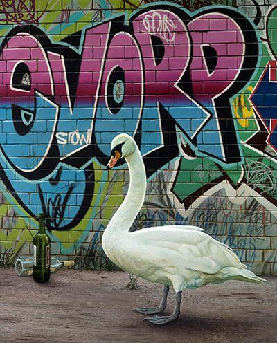 Up The Swanee - Canvas