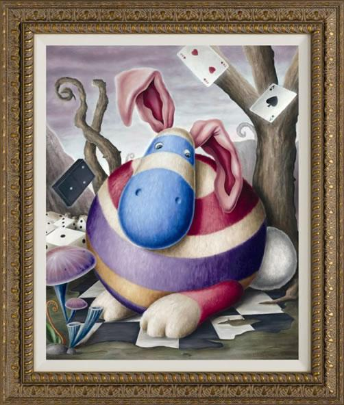 Fat Floppy Fluff  - The Giant Lagomorph by Peter Smith