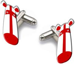 England World Cup 2006 - Cufflinks (Football) by Peter Smith