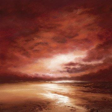 Beach Dawn II - Board Only by Philip Gray