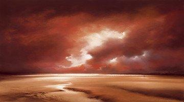 Beach Dawn III - Board Only by Philip Gray