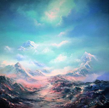 The Top Of The World - Mounted by Philip Gray
