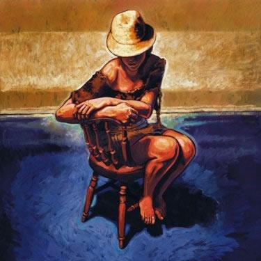 The Blue Carpet by Rajinder Kumar