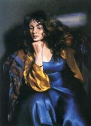 Karen Seated by Robert Lenkiewicz