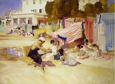 The Iced Drink by Russell Flint