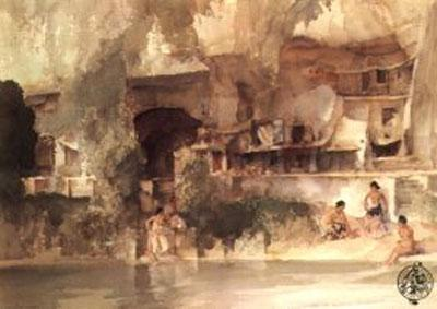 In Sunny Perigord by Russell Flint