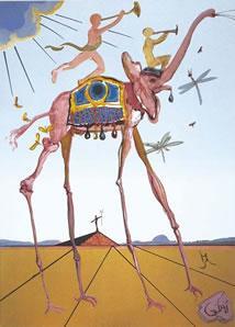 Space Triumph by Salvador Dali