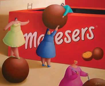Malteasing (Maltesers) by Sarah Jane Szikora