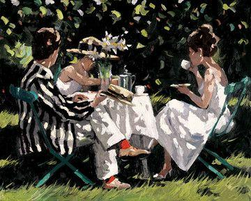 Tea On The Lawn by Sherree Valentine Daines