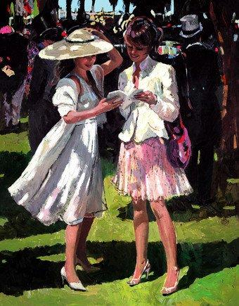 Race Day Elegance by Sherree Valentine Daines