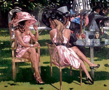 Champagne Summer - Framed by Sherree Valentine Daines
