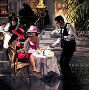 Cafe de Paris by Sherree Valentine Daines