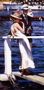 Halcyon Days I - Mounted by Sherree Valentine Daines