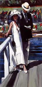 Halcyon Days II - Mounted by Sherree Valentine Daines