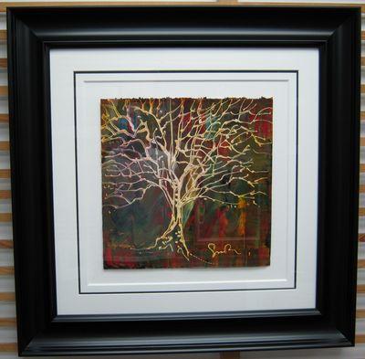 Tree At Night II by Simon Bull