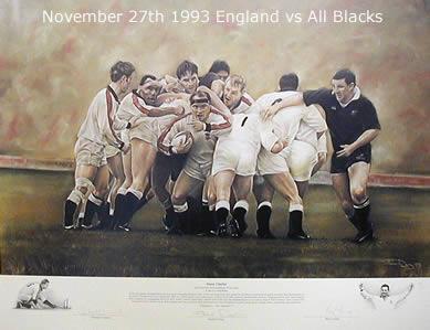 Sweet Chariot - England vs All Blacks 1993 by Stephen Doig
