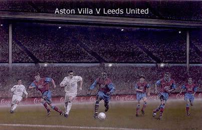 Wembley Magic - Aston Villa vs Leeds United by Stephen Doig