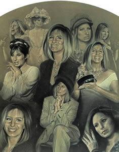 Barbara Streisand - The Way We Were by Stephen Doig