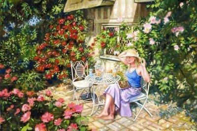 Summer Garden by Steven Binks