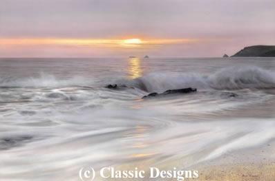 Silky Waters - Porthcothan Bay, Cornwall