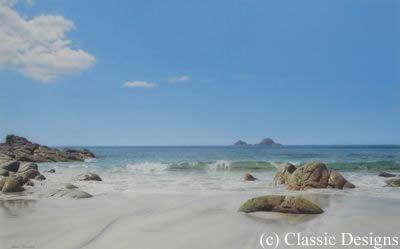 Summer Holidays - Porth Nanven, Cornwall