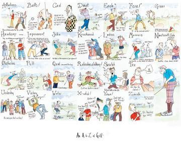 A-Z of Golf by Tim Bulmer