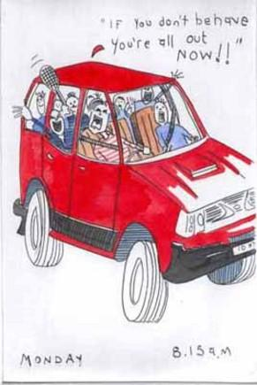 The School Taxi Service by Tim Bulmer