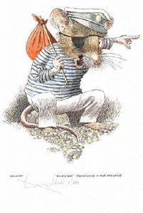 Ships Rat - Wind In The Willows by William Geldart