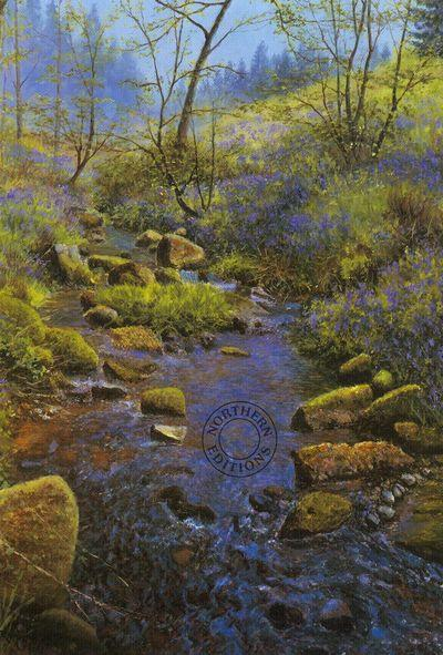 Spring Glade by William Makinson