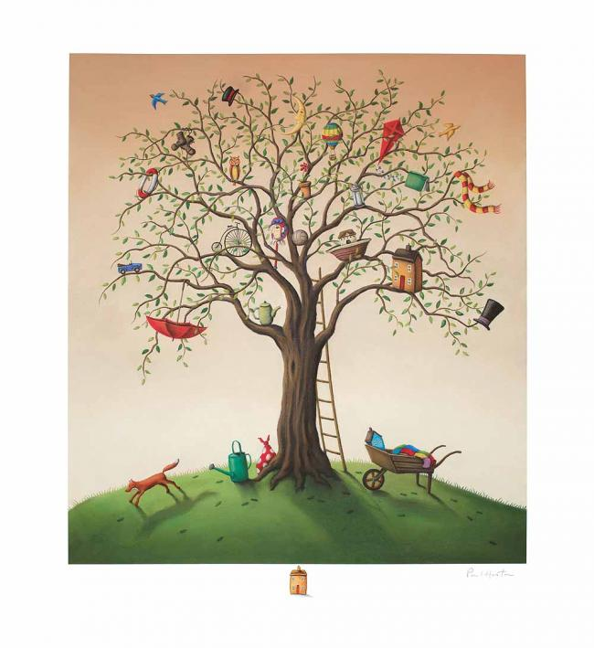 The Tree Of Life - Remarqued Edition by Paul Horton