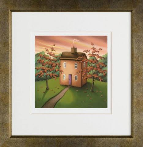 Love Is The Way - Framed by Paul Horton