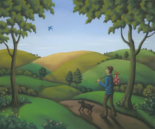 Bluebird Of Happiness by Paul Horton