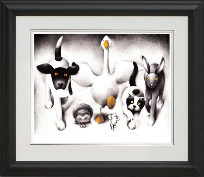 Lunch Time - Framed by Doug Hyde