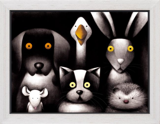 Power Cut - Framed Box Canvas by Doug Hyde