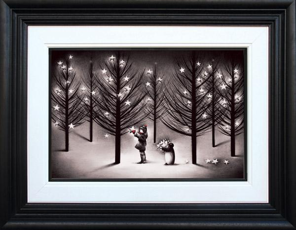 Turning On The Lights - Framed by Doug Hyde