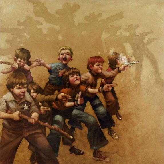 Guns Of The Magnificent Seven by Craig Davison
