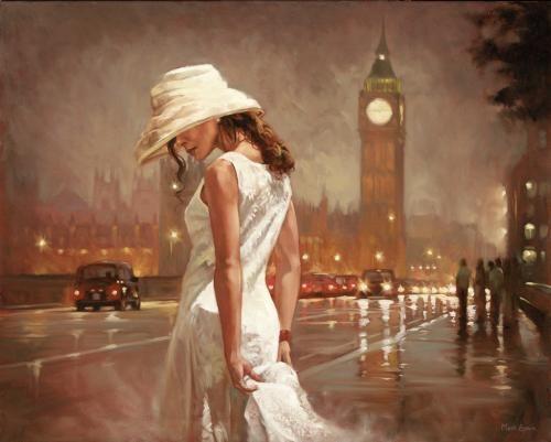 An Evening in London - Framed by Mark Spain